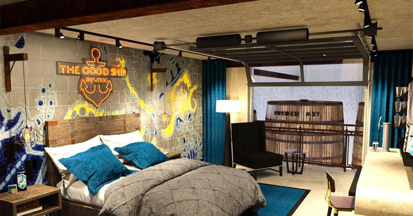 A DogHouse Bedroom | © BrewDog