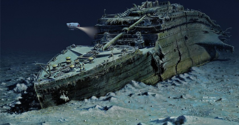 You Can Now Go On An Underwater Tour to See The Titanic