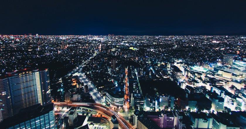 Tokyo at Night  ©  Carl Nenzén Lovén/ Flickr
