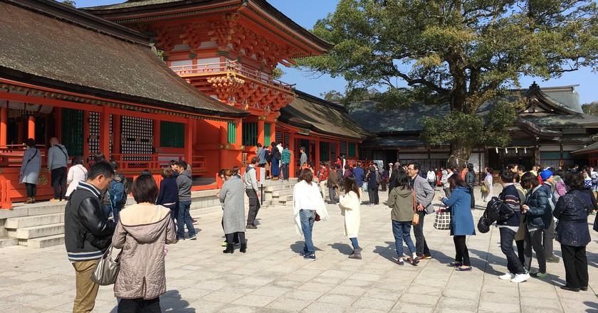 Shrine in Oita Prefecture  ©  gtknj/ Flickr