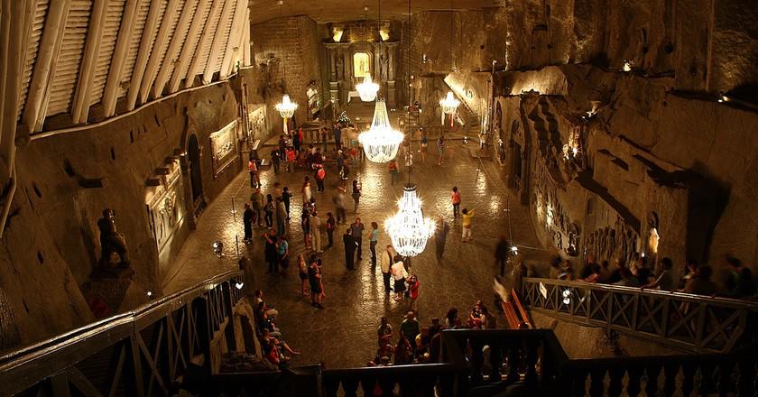 Wieliczka, Saint Kinga's Chapel | © Dino Quinzani/Flickr