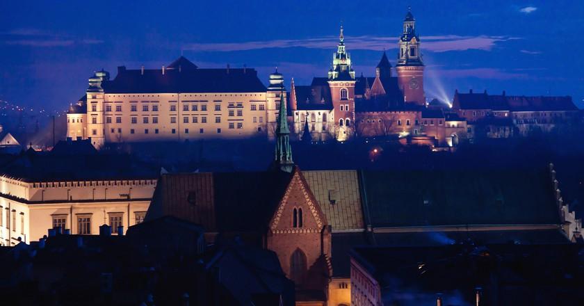 Wawel hill with castle in Krakow   © Pawel Pacholec/Flickr