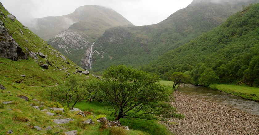 Steall Falls, Glen Nevis | © Christoph Strässler/Flickr