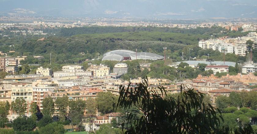 Parioli   © LPLT/Wikicommons https://commons.wikimedia.org/wiki/File:Auditorium_Parco_della_Musica_a_Parioli.JPG