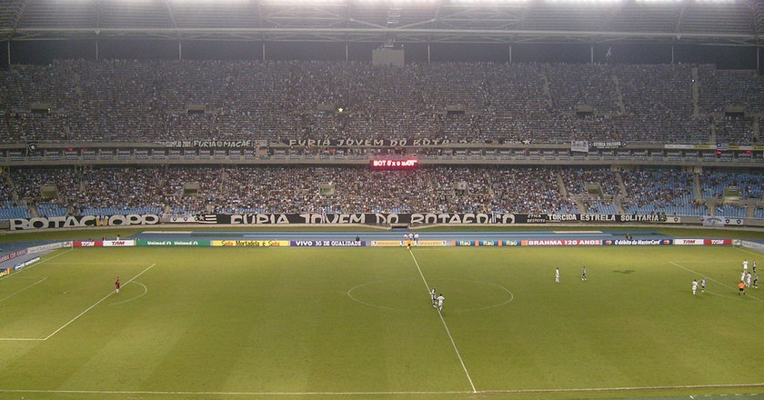 Inside the stadium  | © Martins, Tito / WikiCommons