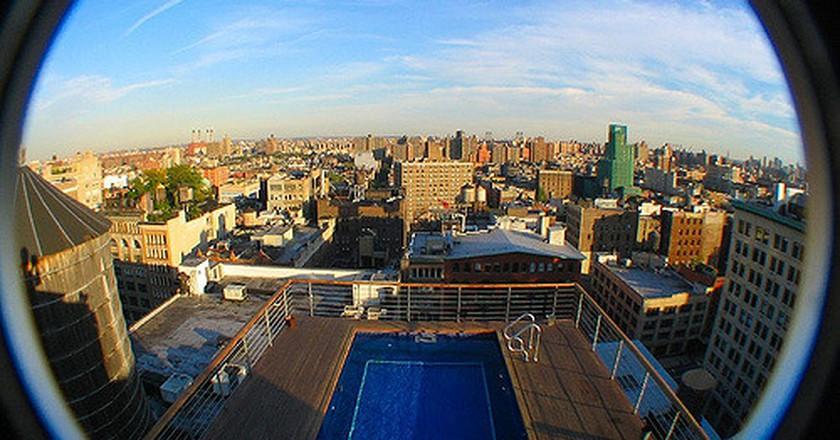 Rooftop Pool | Eric Skiff | © Flickr