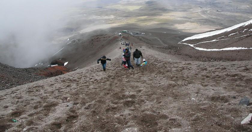 "<a href=""https://www.flickr.com/photos/jrubinic/1176160512/"" target=""_blank"" rel=""noopener noreferrer"">Hiking in Ecuador | © Julia Rubinic / Flickr</a>"
