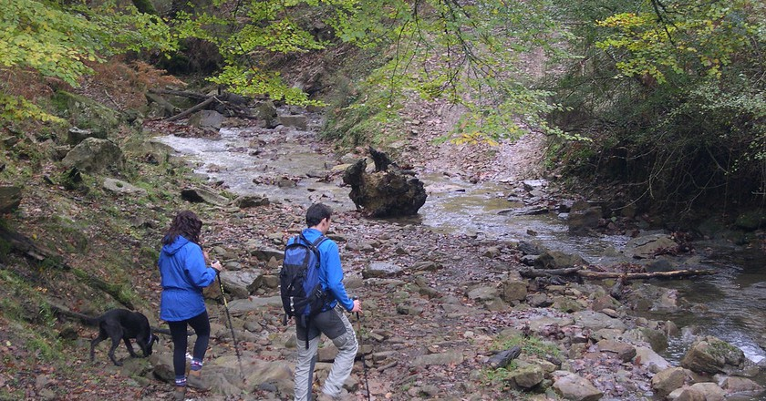 Hiking in the Basque Country, Spain | ©Gorkaazk / Wikimedia Commons