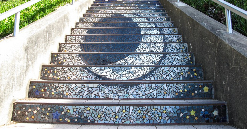 16th Avenue Tiled Stair Project |© Ed Bierman
