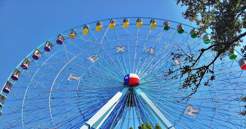 Ferris Wheel at the Texas State Fair | Bobby Light/Flickr