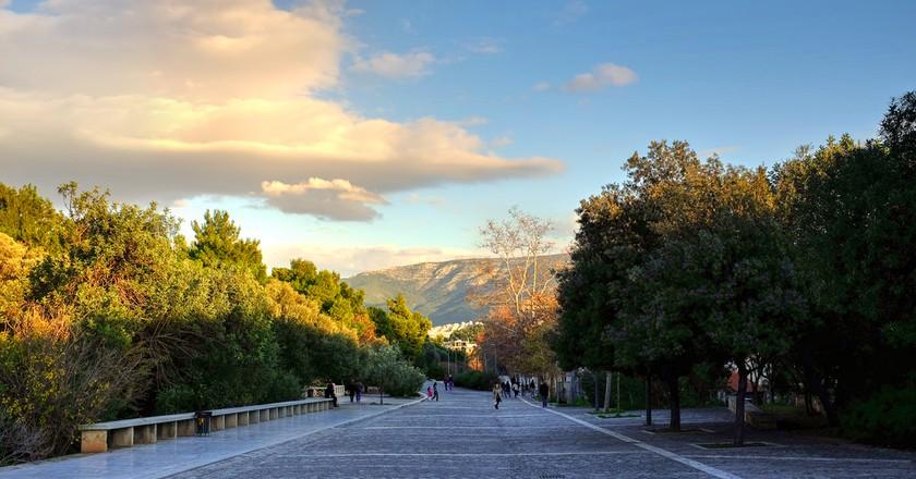 Dionysiou Areopagitou (near the entrance to Acropolis)