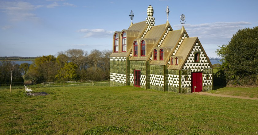 'A House for Essex', a project by Grayson Perry and FAT Architecture | © Jack Hobhouse