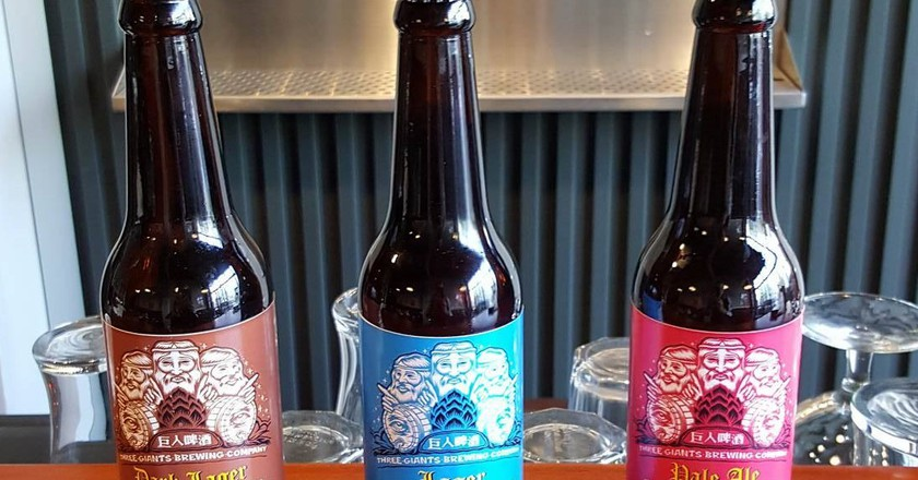 Taichung's finest brews | © Three Giants Brewing Co.