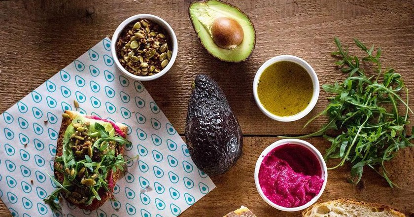 An Avocado Bar Has Opened in NYC, Just Because