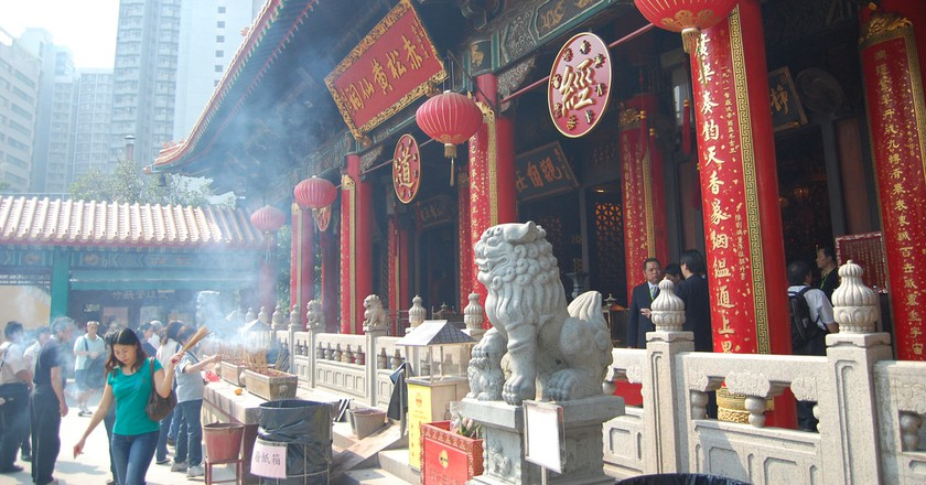 Wong Tai Sin Temple in Hong Kong | © Edwin Lee/Flickr