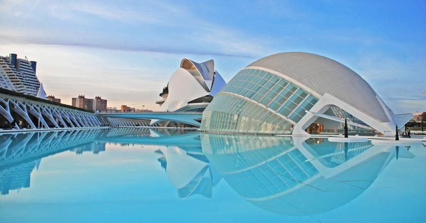 The City of Arts and Sciences, Valencia | © Ka13/WikiCommons