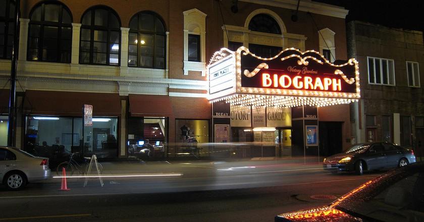 "<a href=""https://www.flickr.com/photos/bwchicago/2519350476/"" target=""_blank"">Biograph Theater | © BWChicago/Flickr</a>"
