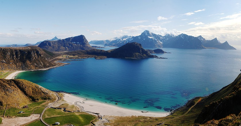 Haukland Beach view | © Michele Agostini / Flickr
