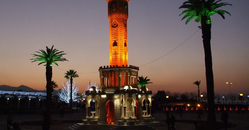 Izmir Clock Tower | © Ismail Diker / Flickr