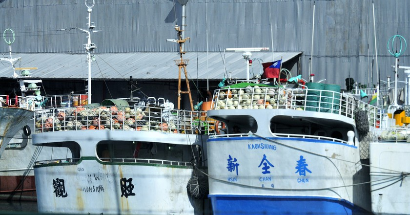 """<a href =""""https://www.flickr.com/photos/13523064@N03/4436708439/""""> The ships come from China or Chinese Taiwan 