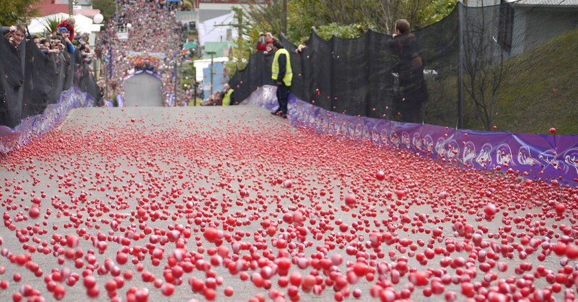 Baldwin Street Jaffa Race | © Dunedin NZ/Flickr