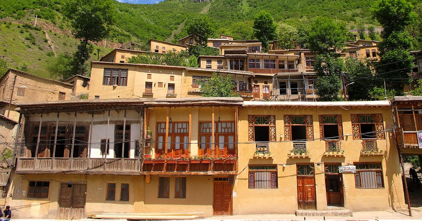 The beautiful village of Masouleh | © Mehrab Pourfaraj / Flickr