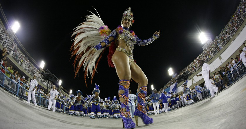 Samba dancer | © Elisangela Leite|Riotur / Flickr