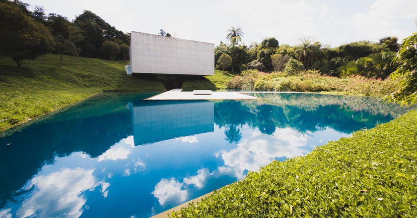 The gallery of Rio de Janeiro artist, Adriana Varejão in Inhotim   © Claudia Regina/Flickr