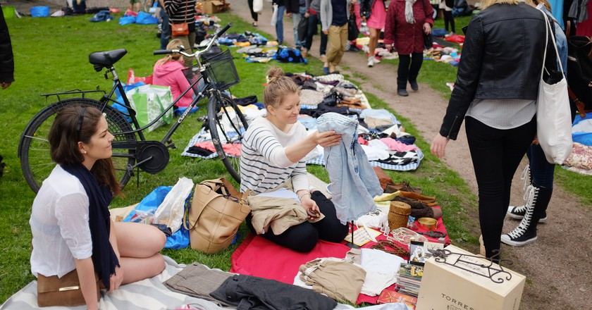 The Kallio flea market/ Petteri Sulonen/ Flickr