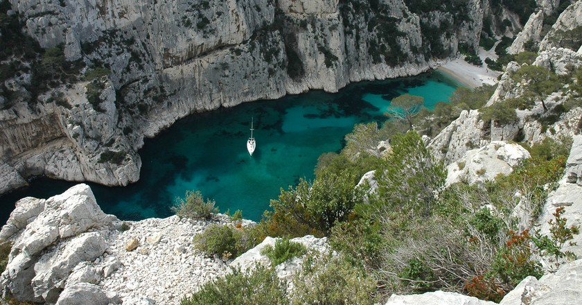 The Calanques are a natural wonder, located just outside of Marseille | © Prashant Ram/Flickr