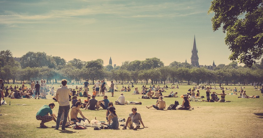 Sunbathers In The Meadows   © easy-lucky-free / Flickr