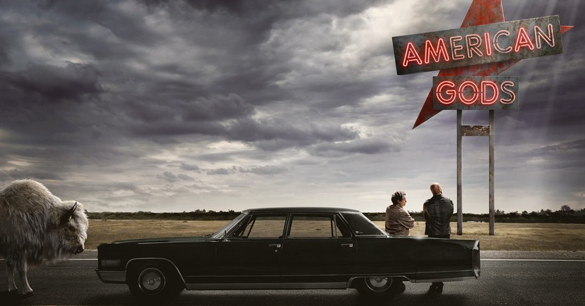 American Gods: Fantasy and Americana, combined | Courtesy of Amazon