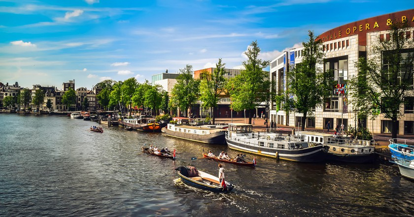 A summer's day in Amsterdam | © pixabay