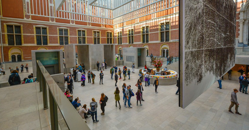 Inside the Rijksmuseum | © pixabay
