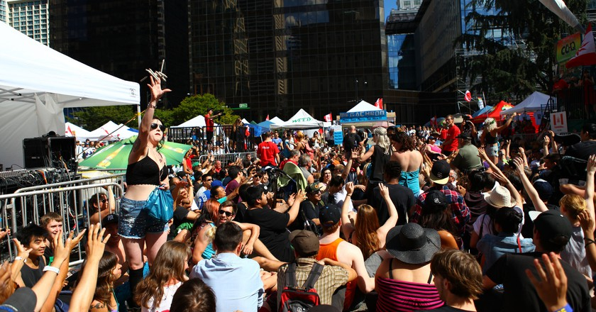 Canada Cannabis Day, Marijuana Street Party 2014 | © GoToVan / Flickr