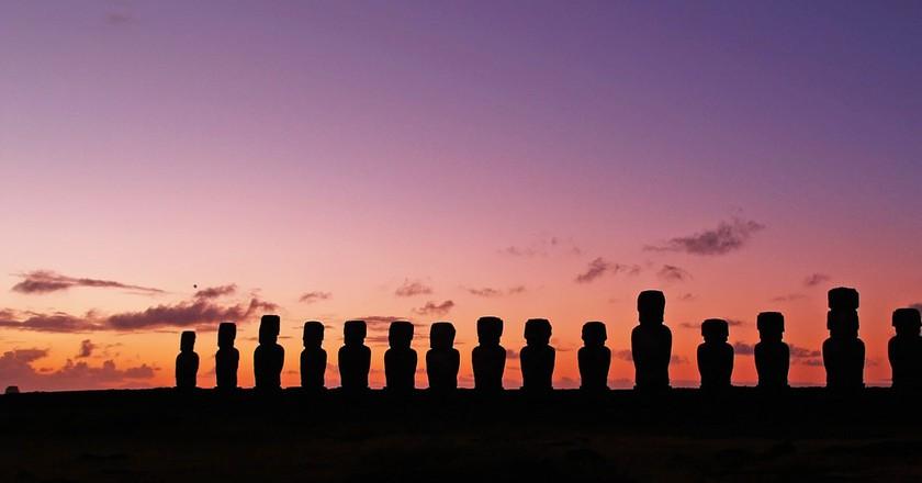 Easter Island moai | © myeviajes/Pixabay