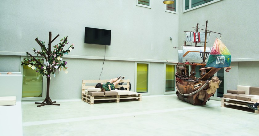 ClinkNOORD Hostel Amsterdam| Courtesy of Hostelworld