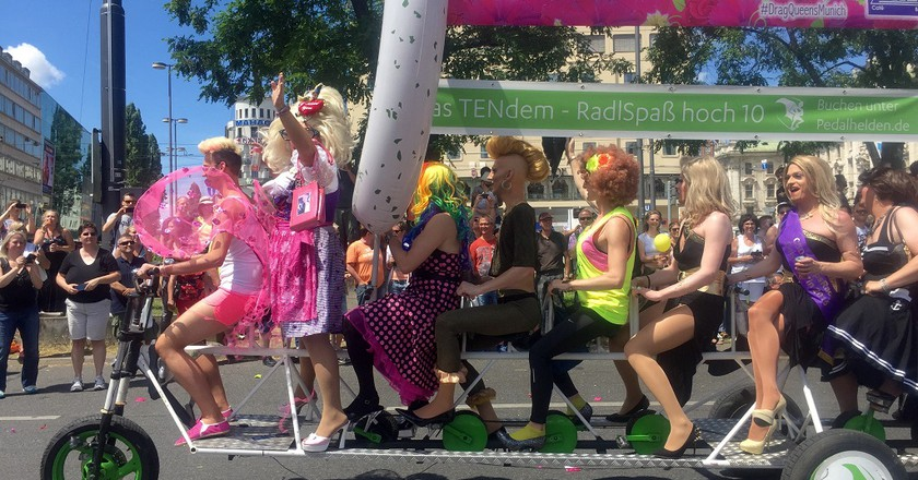 Gay pride parade, Munich © Roanna Mottershead