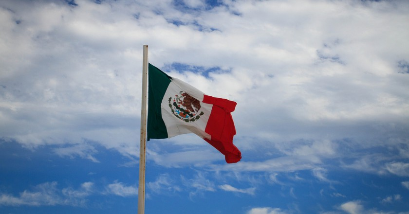 The flag of Mexico   © Gary J. Wood / Flickr