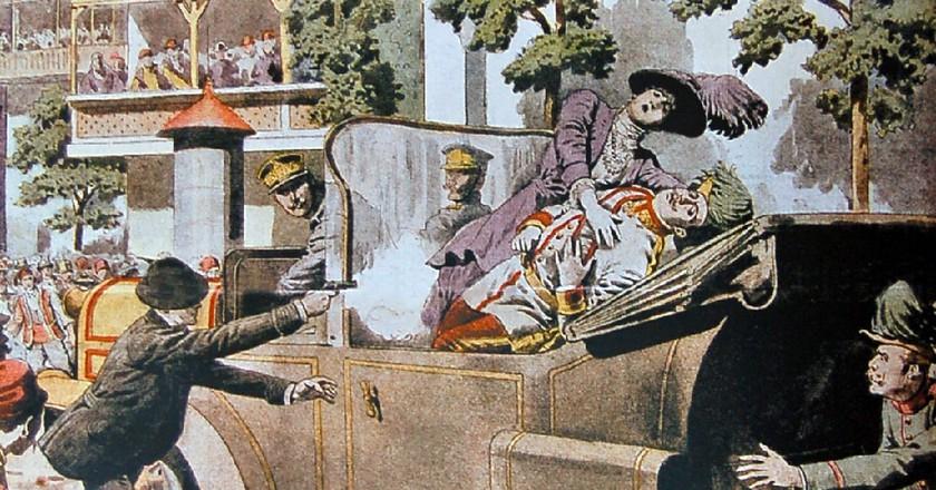 Assassination of Archduke Franz Ferdinand   ©  SARAJEWO Attentat / Wikimedia Commons