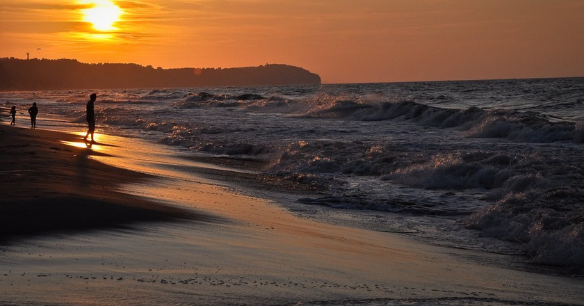 Baltic sea sunset, Hel, Poland | © PIVISO/Flickr/Public Domain