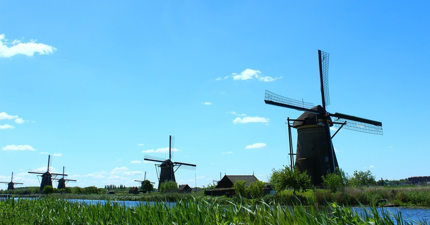 Kinderdijk Windmill Network | © pixabay