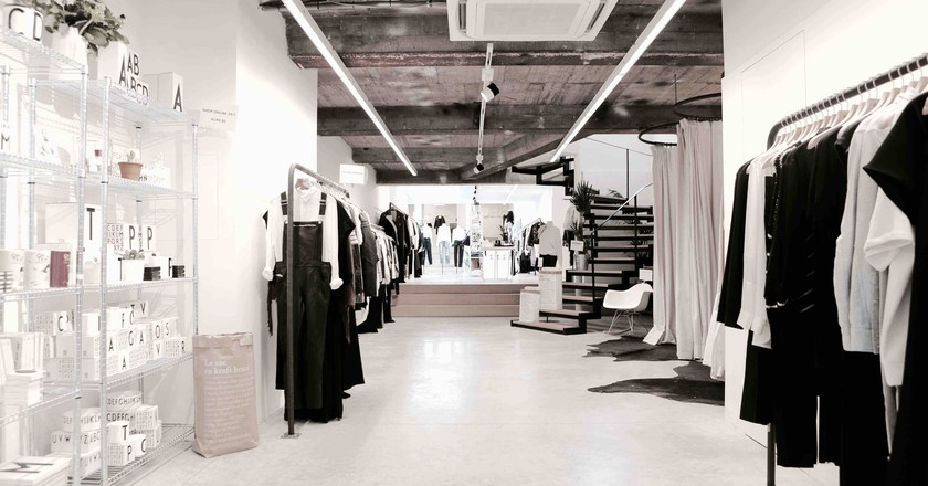 KURE, one of Brussels' fashion sanctuaries | Courtesy of KURE