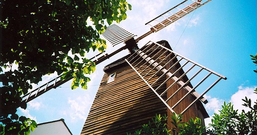 Moulin de la Galette (Blute-fin) │© Arnaud Malon / Wikimedia Commons