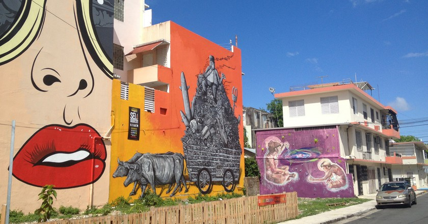 Multiple pieces of graffiti in Santurce | © Juan Cristobal Zulueta/ Flickr