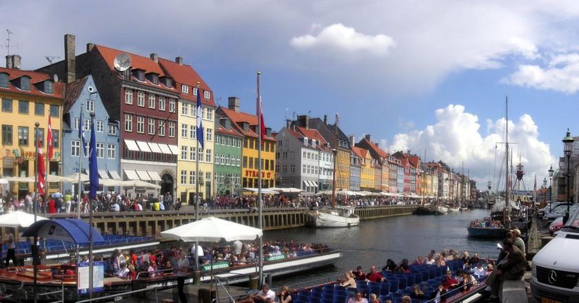 Nyhavn, Copenhagen   © Alphalphi / WikiCommons