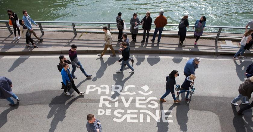 Parc Rives de Seine │© Jean-Baptiste Gurliat / Mairie de Paris