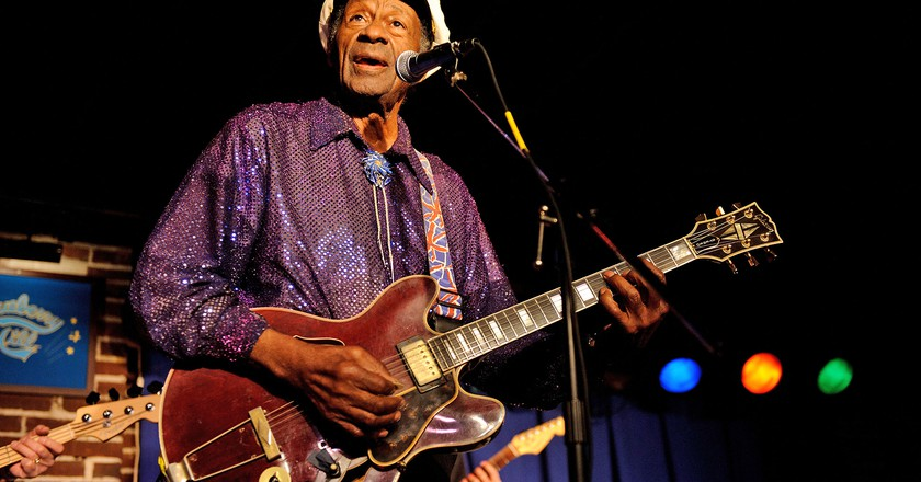 Chuck Berry died aged 90 | © Startraks Photo/REX/Shutterstock