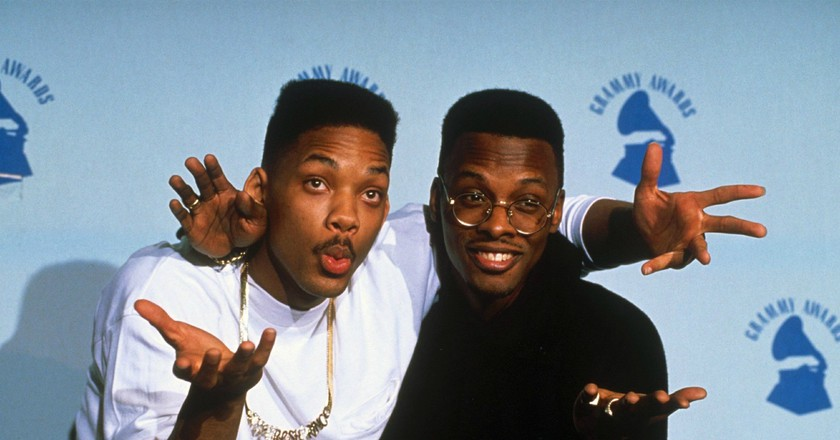 Will Smith aka The Fresh Prince and DJ Jazzy Jeff | © SIPA PRESS/REX/Shutterstock