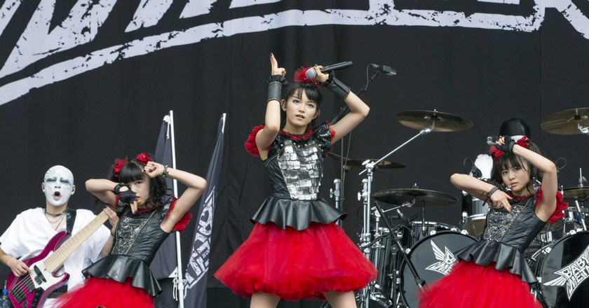 BABYMETAL performs at Leeds Festival | © Mike Gray/Music Pics/REX/Shutterstock